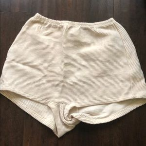 American Apparel ribbed Shorts